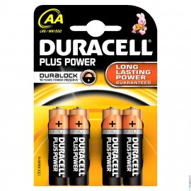 Duracell Plus Power 4 stilo AA