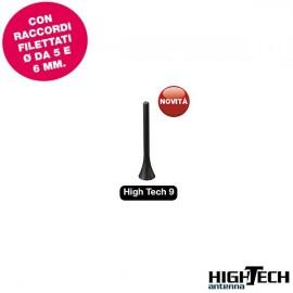 Antenna auto HiTech 9 UNIVERSALE - colore nero