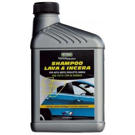 Shampoo auto lava e incera